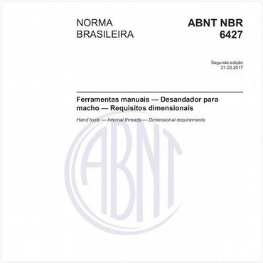 NBR6427 de 03/2017