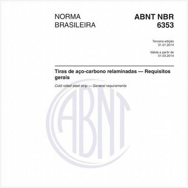 NBR6353 de 01/2014