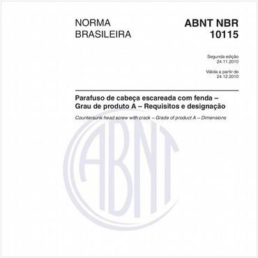 NBR10115 de 11/2010