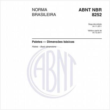NBR8252 de 11/2011
