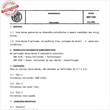 NBR7443 de 07/1982