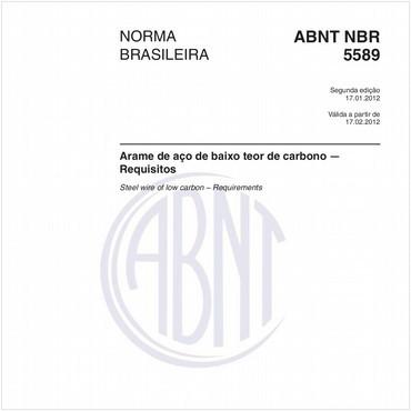 NBR5589 de 01/2012
