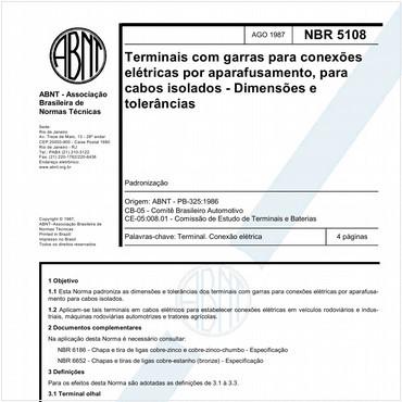 NBR5108 de 08/1987
