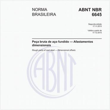 NBR6645 de 11/2015