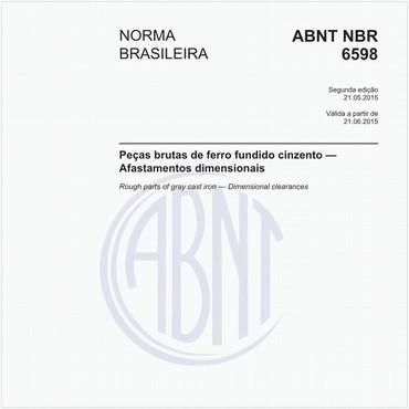 NBR6598 de 05/2015