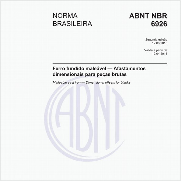 NBR6926 de 03/2015