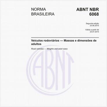 NBR6068 de 06/2015