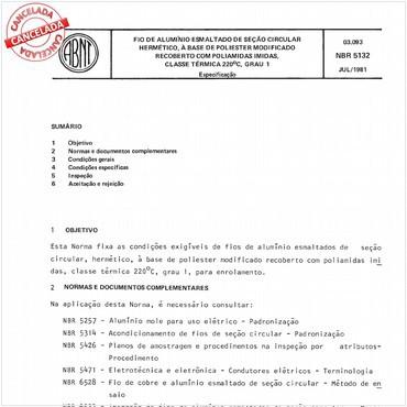 NBR5132 de 07/1981