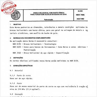 NBR7495 de 08/1982