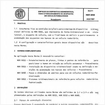 NBR6058 de 08/1987