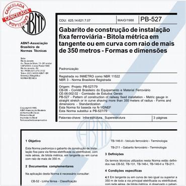 NBR11522 de 05/1988