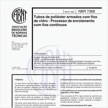 NBR7368 de 05/1982