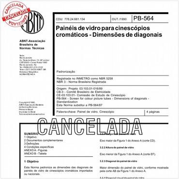 NBR5258 de 10/1990