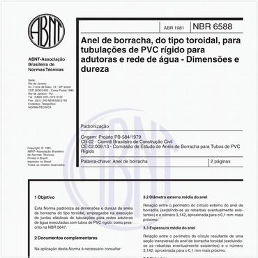 NBR6588 de 04/1981
