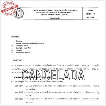 NBR5140 de 07/1981