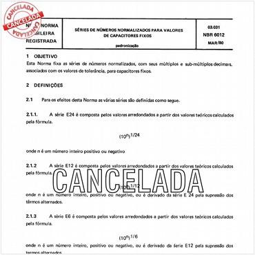 NBR6012 de 03/1980