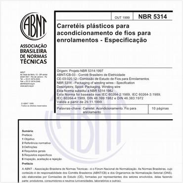 NBR5314 de 10/1999