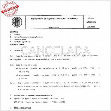 NBR6805 de 07/1982