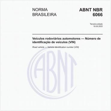 NBR6066 de 06/2009