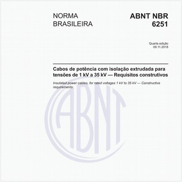 NBR6251 de 11/2018