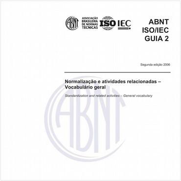 ABNT ISO/IEC GUIA2 de 08/2006