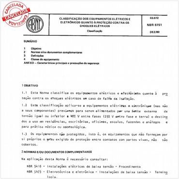 NBR6151 de 12/1980