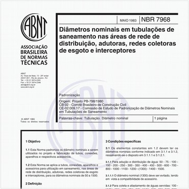 NBR7968 de 05/1983