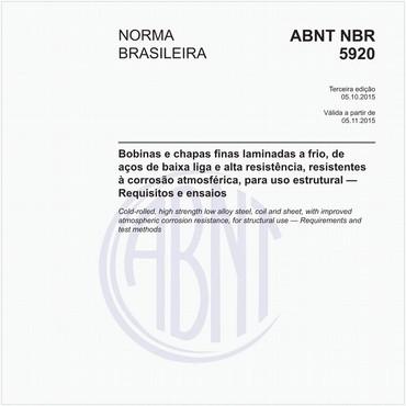 NBR5920 de 10/2015
