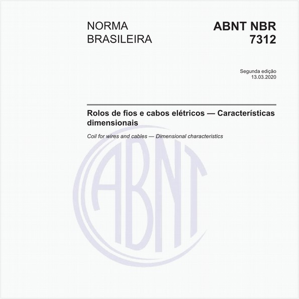 NBR7312 de 03/2020
