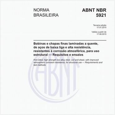 NBR5921 de 07/2015