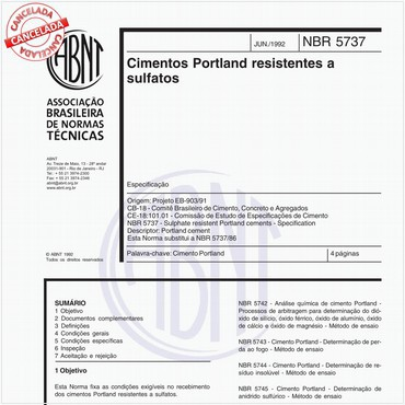 NBR5737 de 06/1992