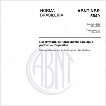 NBR5649 de 04/2006