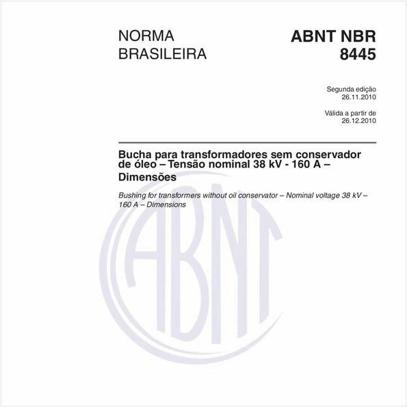NBR8445 de 11/2010