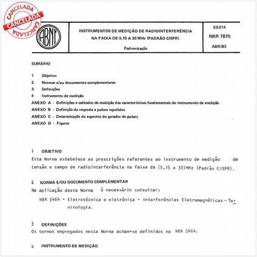 NBR7875 de 04/1983