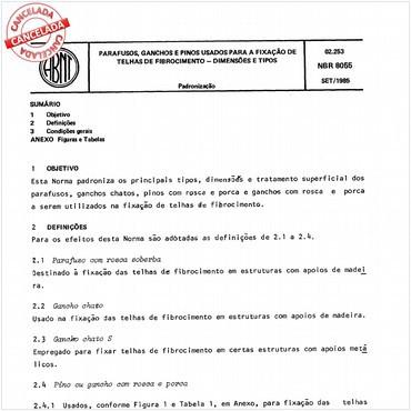 NBR8055 de 09/1985