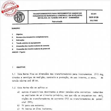 NBR8126 de 07/1983