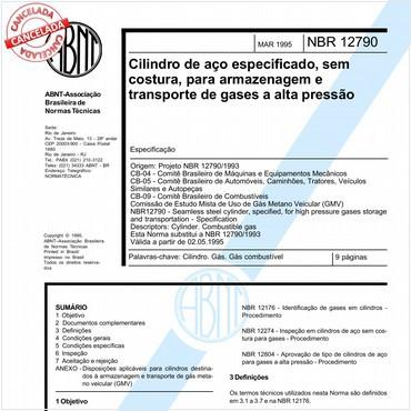 NBR12790 de 03/1995