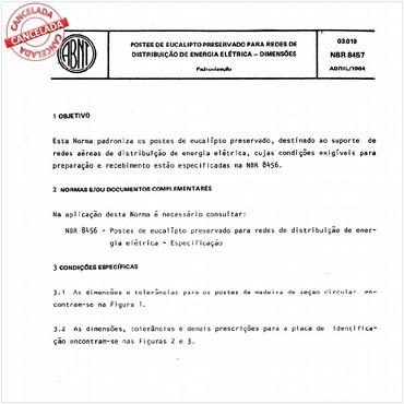 NBR8457 de 04/1984