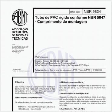NBR9824 de 05/1987