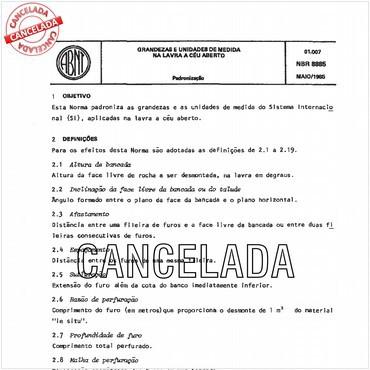 NBR8885 de 05/1985