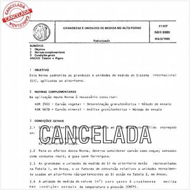 NBR8886 de 05/1985