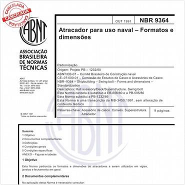 NBR9364 de 10/1991