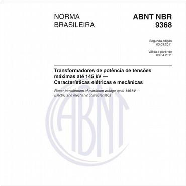 NBR9368 de 03/2011
