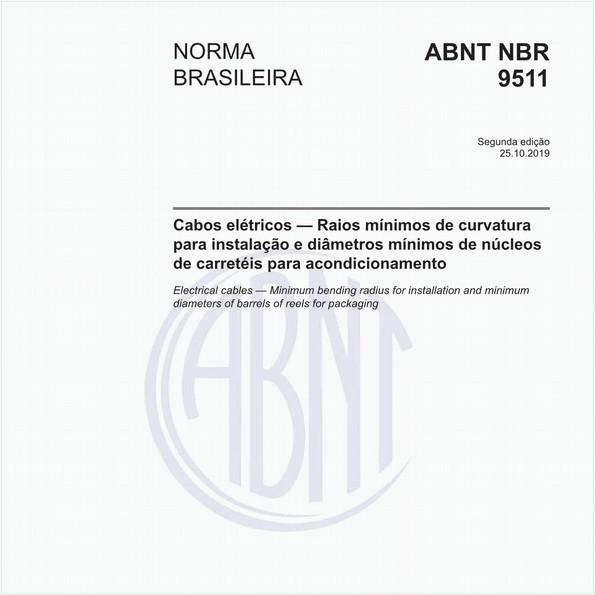 NBR9511 de 10/2019
