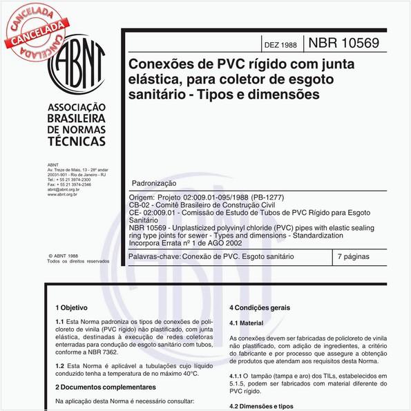 NBR10569 de 12/1988