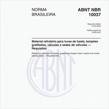 NBR10037 de 04/2012