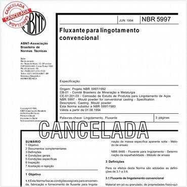 NBR5997 de 06/1994
