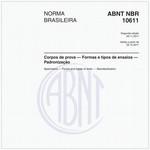 NBR10611 de 11/2011