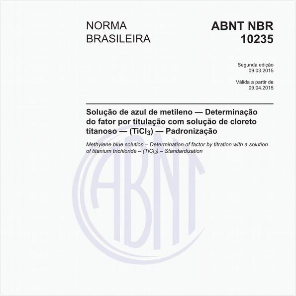 NBR10235 de 03/2015