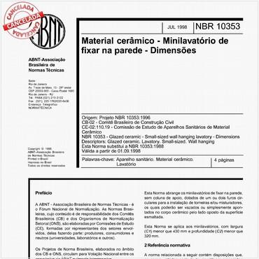 NBR10353 de 07/1998